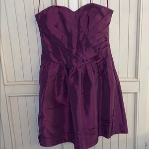 *NWT*Purple Strapless Max and Cleo Dress size: 10
